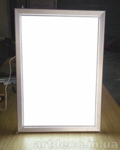 Световая панель в фото студию