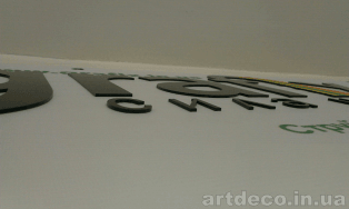баннер с буквами